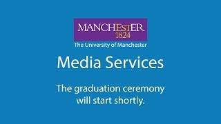 The University of Manchester Live Stream