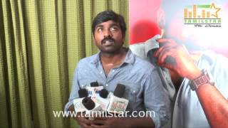 Vijay Sethupathi At Sethupathi Movie Team Interview