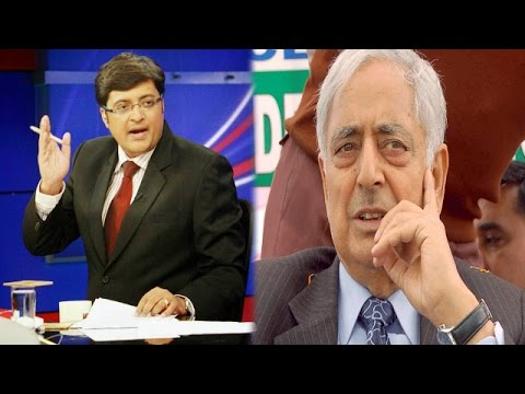 The Newshour Debate: Kashmiri Pandits skeptical of rehab move​ (9th April 2015)