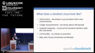 (Tutorial) Building a Test/Dev Cloud with Apache CloudStack - David Nalley, Citrix