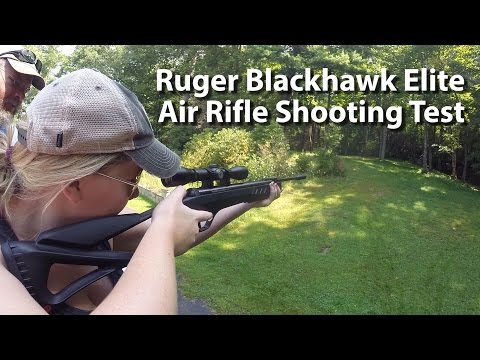Ruger Blackhawk Elite Air Rifle - Shooting Test With Tim Glenn