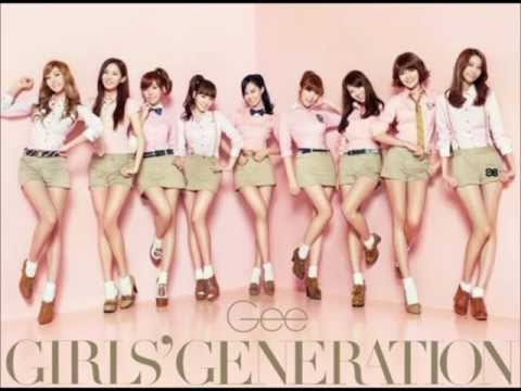 Snsd - Gee (audio) video
