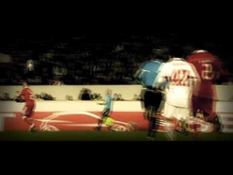 Nico Gaitan back pass/espalda - SL Benfica v VfB Stuttgart