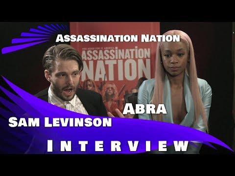 Assassination Nation -  Sam Levinson And Abra Interview