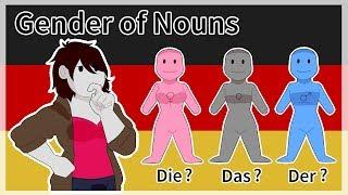Gender of German Nouns - Amanimations