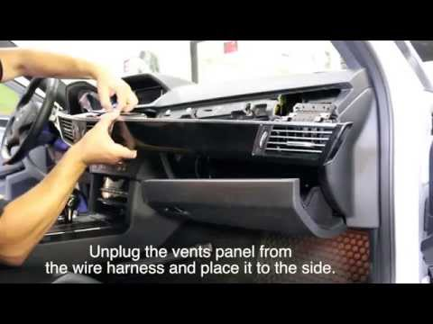 Mercedes Benz E-Class C207 W212 2010 - 2013 NAVIKS Video in Motion Unit Install.