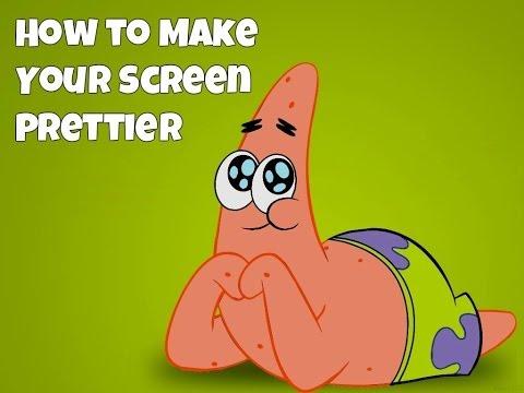 Tutorials | How to Make Your Screen Prettier (Color Vibrance)