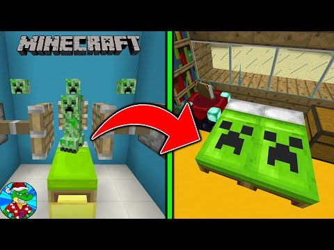 Como Hacer CAMAS SECRETAS en Minecraft Tutorial! -  Xbox One/Pocket Edition