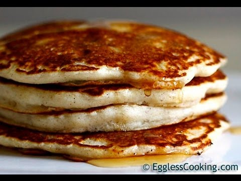 THE Best Eggless Pancakes Recipe