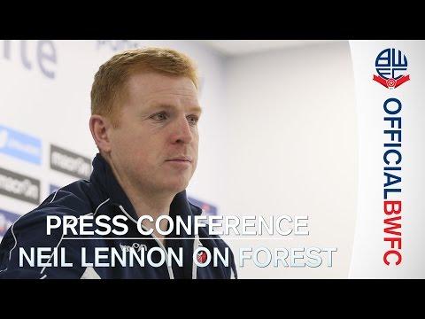 PRESS CONFERENCE | Neil Lennon previews Nottingham Forest trip