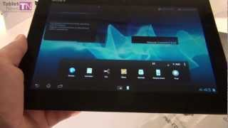 Sony Xperia tablet S Unboxing - Tablet-News.com