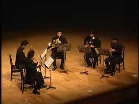 ligeti 10pieces woodwindquintette 2of2 G・リゲティ 木管五重奏の為の10の小品 Music Videos
