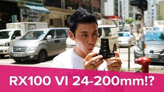 Sony RX100 VI Hands-on Review