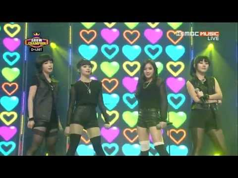 130417 Show Champion D-Unit  - Thank You [1080p HD]