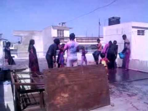 Holi Ki Masti In Kota video
