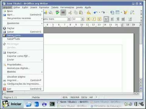 BrOffice x Microsoft Office