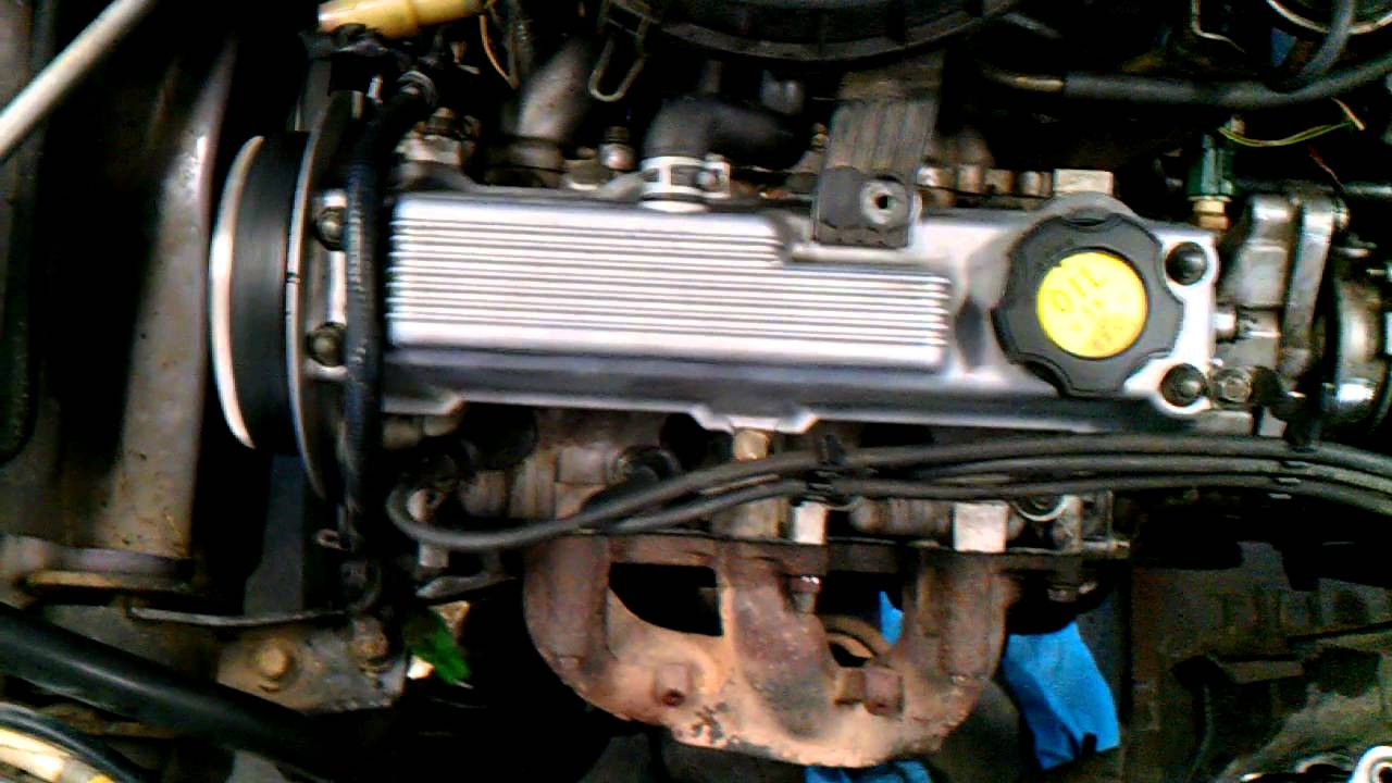 95 Geo Metro with rough idle - YouTube