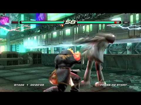 Tekken 6 [PS3] 'King vs Mokujin' TRUE-HD QUALITY