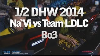 DreamHack Winter 2014 CS:GO - LDLC vs NaVi 1/2 Finale