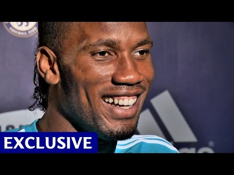 Didier Drogba: Exclusive First Interview