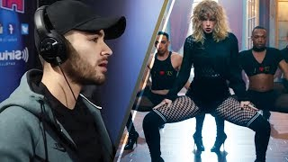 Download Lagu Zayn Malik REACTS to Taylor Swift's Controversial Comeback Gratis STAFABAND