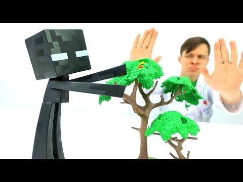Игры Майнкрафт для мальчиков: Эндермен у Доктора Ой
