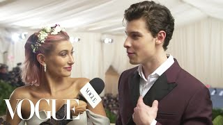 Shawn Mendes And Hailey Baldwin On Who Looks Better At The Met Gala Met Gala 2018 With Liza Koshy