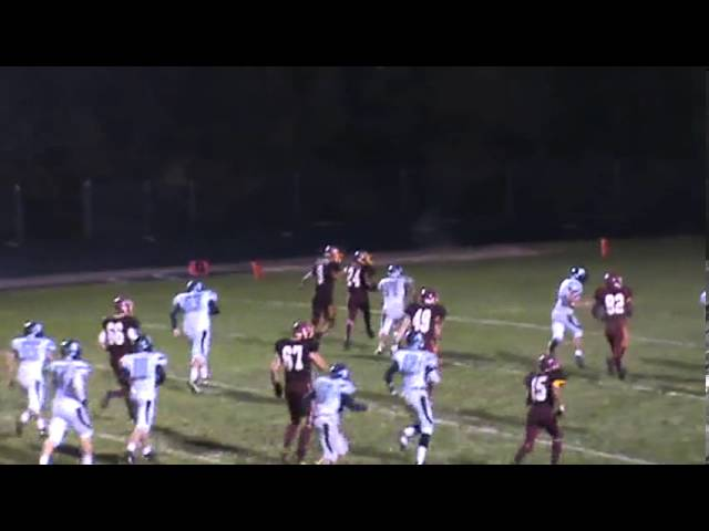 9-27-13 - This 30 yard TD is Randy Baker's 3rd score of the game (Brush 41, University 6)