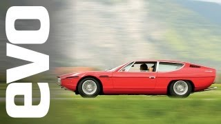 Lamborghini Espada 1000mile road trip | evo DIARIES