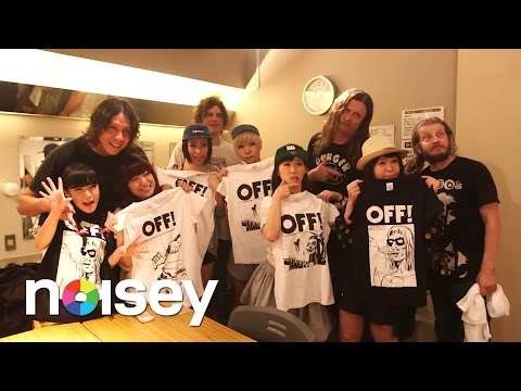 OFF!とBiSガチンコ対バンの舞台裏 - BEHIND THE SCENES with OFF! in Tokyo