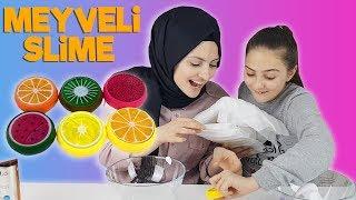 Meyveli Slime - DIY FLUFFY SLIME !    Banggood   How To Make The BEST Slime!