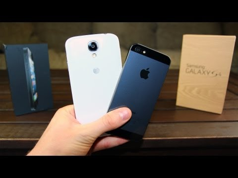 Apple iPhone 5 vs Samsung Galaxy S4: in-depth Review Continued