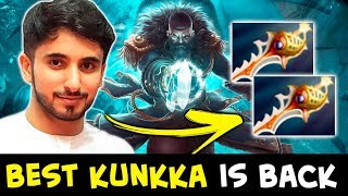 BEST Kunkka is BACK — Attacker + Rapiers name more iconic duo