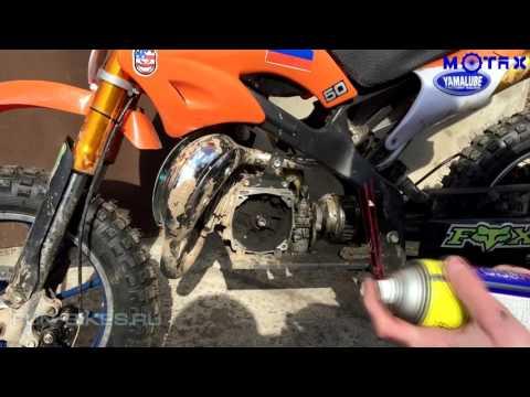 Замена сцепления на двухтактной детской мототехнике MOTAX | На примере МиниКросса 50 cc