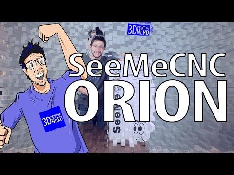 SeeMeCNC Orion 3D Printer Unboxing
