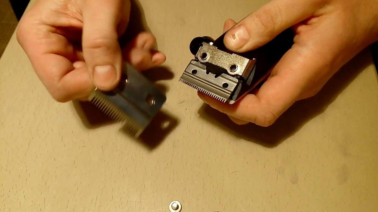 Как заточить нож машинки для стрижки в  998