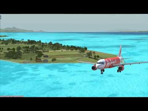Jakarta to Bali, Air Asia Indonesia A320
