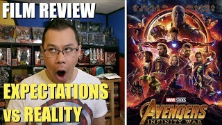 Avengers Infinity War film review by Alex Yu - [EXPECTATIONS vs REALITY]