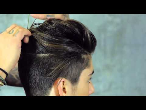 Messy Top Knot Hairstyle  Euro Soccer Cut