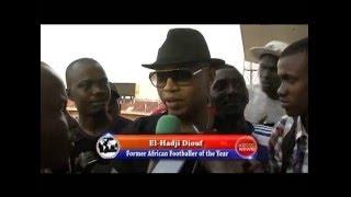 El Hadji Diouf impressionné par le niveau du football gambien