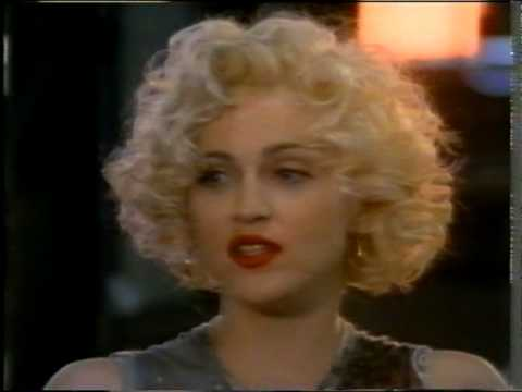 Madonna 1990 The Making of Dick Tracy UK TV Report