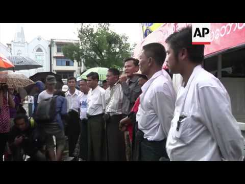 As Thai PM visit protesters rally over claims 2 Myanmar nationals are being tortured by police