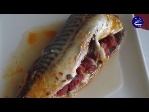 Pescado asado en microondas, #209 . Cocina en video.com