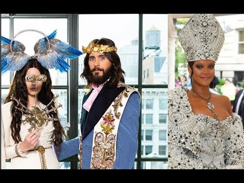 YOU WILL NOT BELIEVE THE THEME AT THIS YEARS ILLUMINATI MET GALA EVENT...