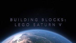Building Blocks - Lego Saturn V Timelapse