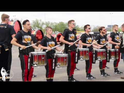 United Drum Line in the Lot   WGI 2017 Finals   Steve Weiss Music
