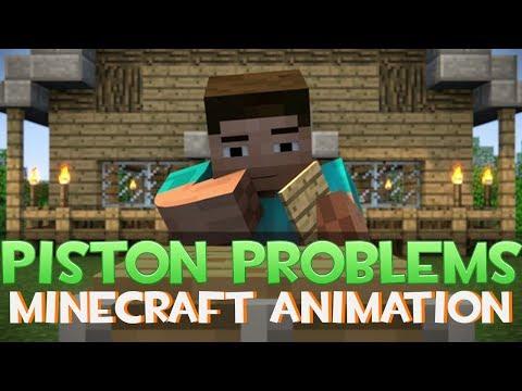 Piston Problems (Minecraft Animation) ᴴᴰ