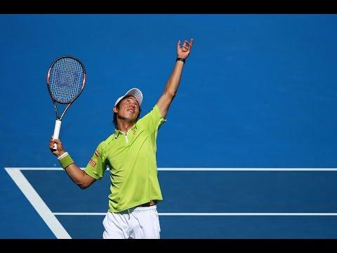 Massive tennis! Wawrinka v Nishikori (QF) - Australian Open 2015