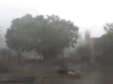 Tornado en Quimili, filmado en el barrio Calasanz por Mario Daniel Escudero.