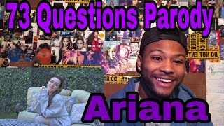 Julia Finkelstein - 73 Questions with Ariana Grande | Vogue Parody | Reaction!